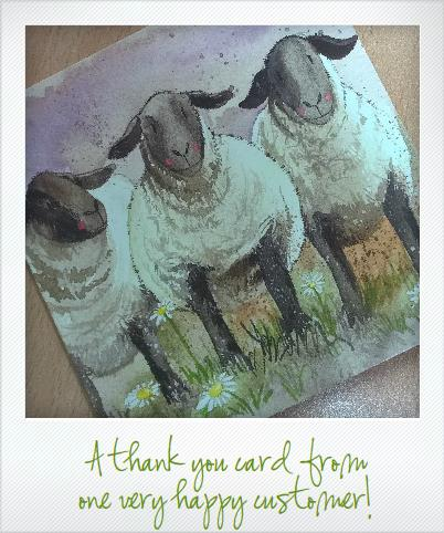 The Wool Room Thank You Card