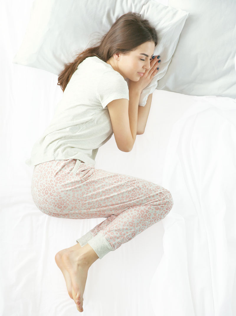 What Is The Healthiest Sleeping Position The Wool Room