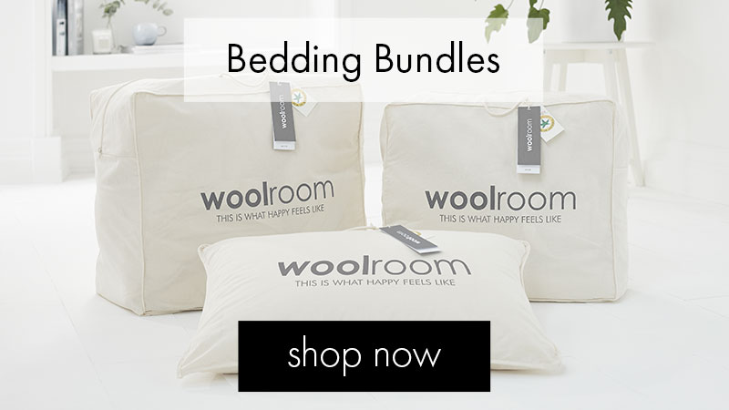 tile - UK wool bedding sets