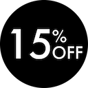 15 Percent Off - April 2019