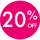 Feb Clearance 20% PINK