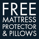 Free Bedding with Mattresses