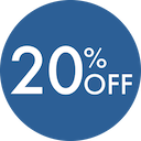 20 Percent Off - June 2019