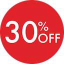 30 Percent Off - July 2019