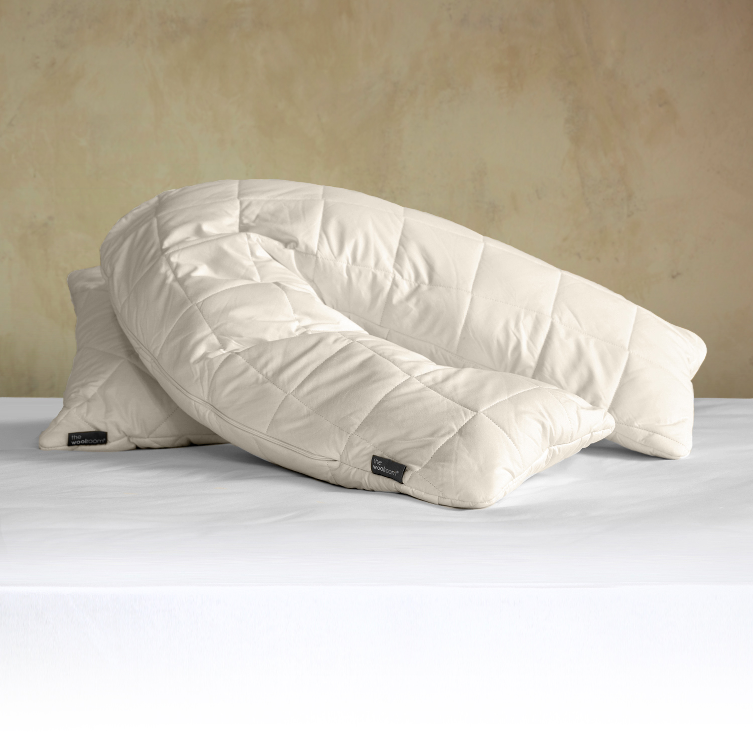 V Shaped Deluxe Wool Pillow | woolroom
