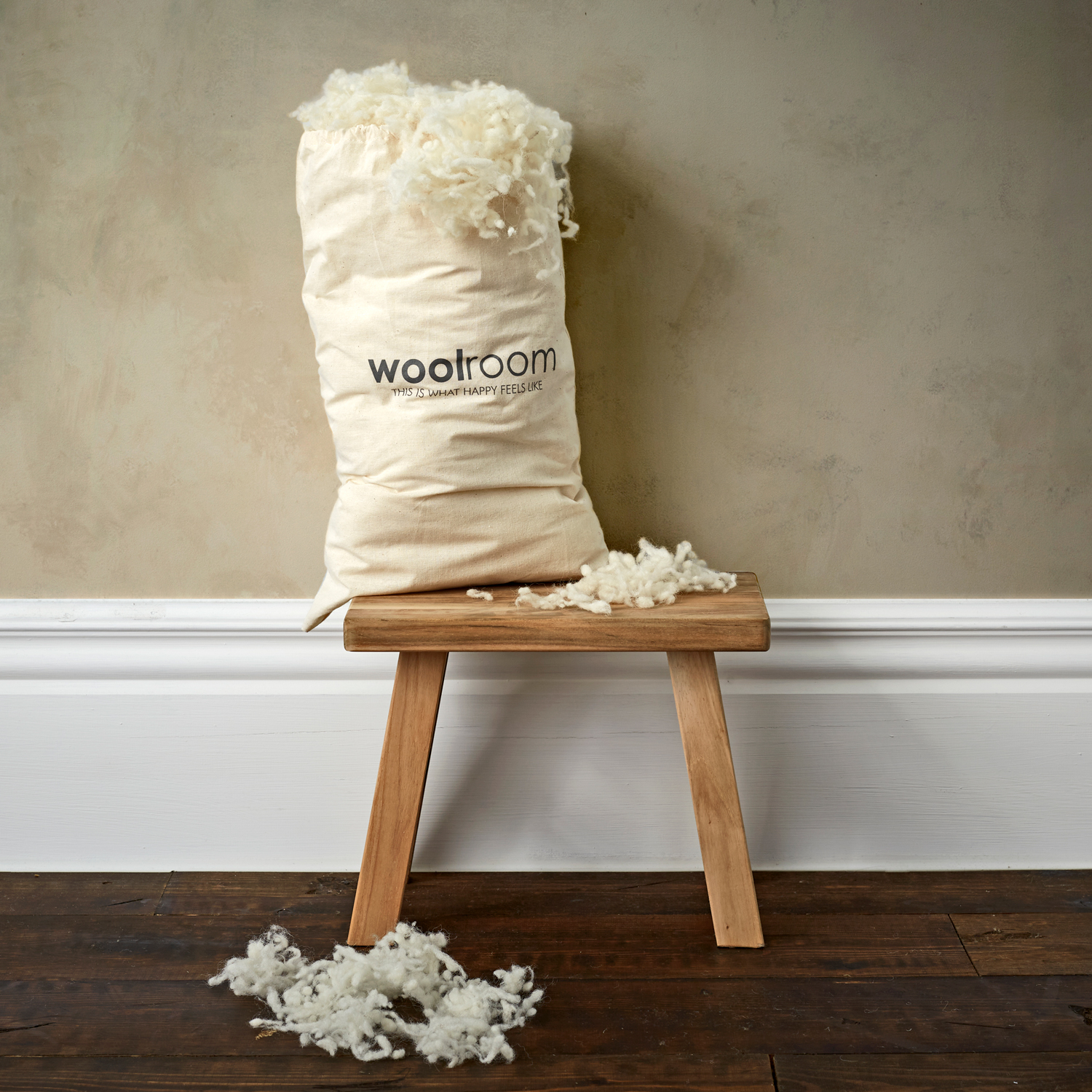 Extra Wool for Deluxe Pillows | woolroom