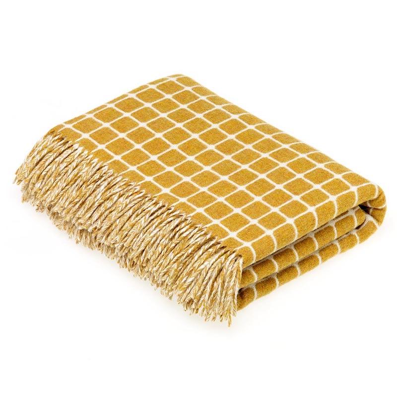 Athens Wool Throw - Gold