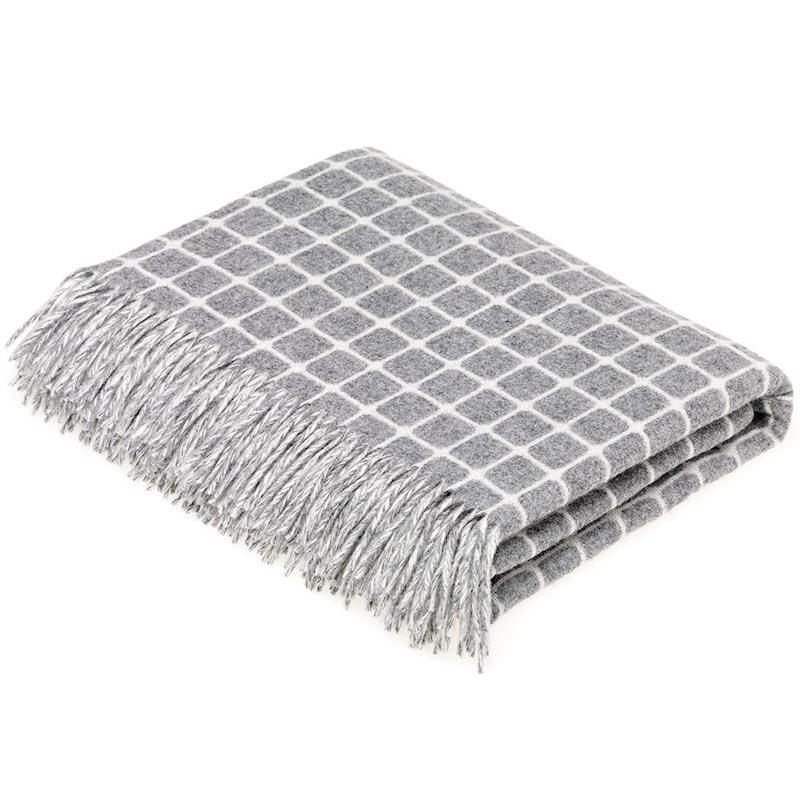 Athens Wool Throw - Grey