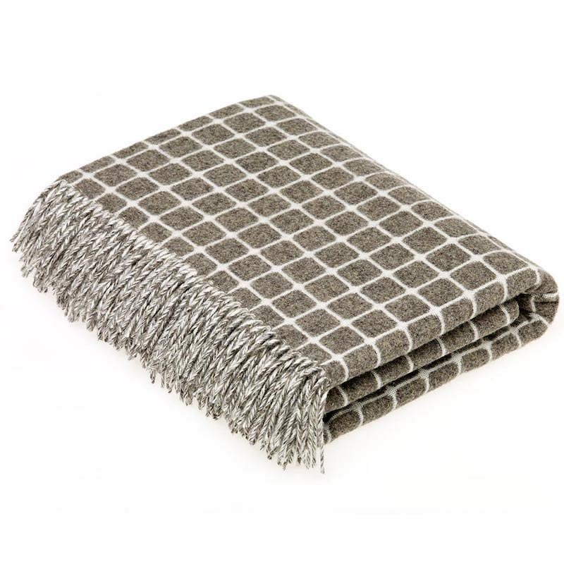 Athens Wool Throw - Slate