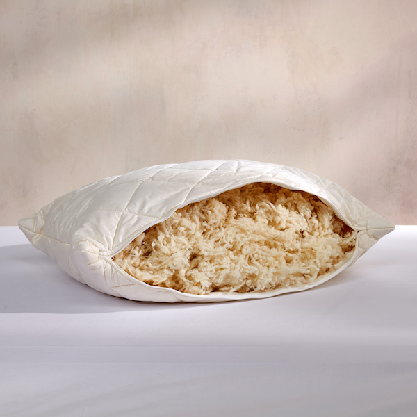 Deluxe Washable Wool Pillow
