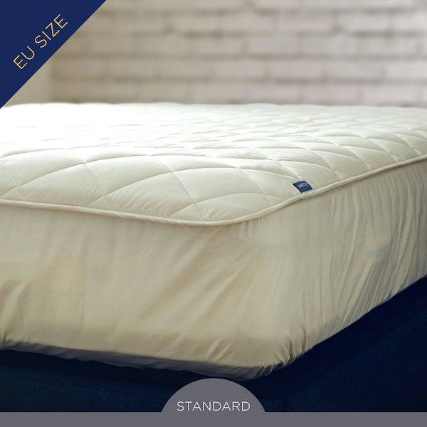 EU Size Deluxe Washable Wool Mattress Protector