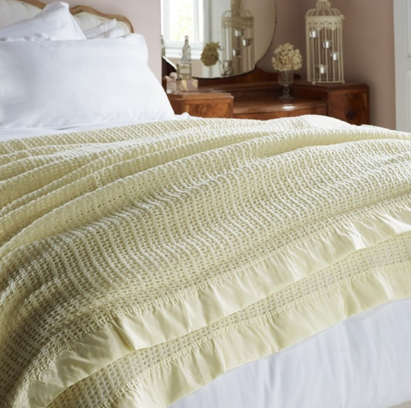 Cellular Blanket - Cream