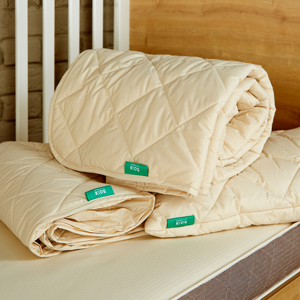 Woolroom Kids Cot Bed Bundle with Mattress Protector