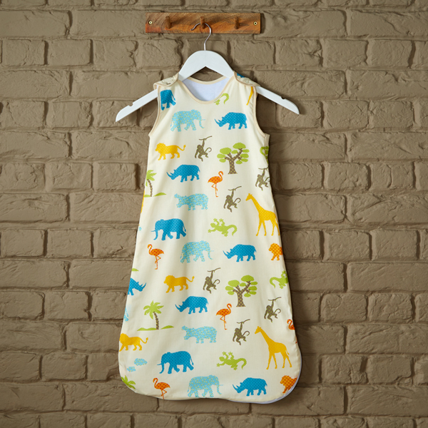 Jungle Friends Baby Wool Sleeping Bag