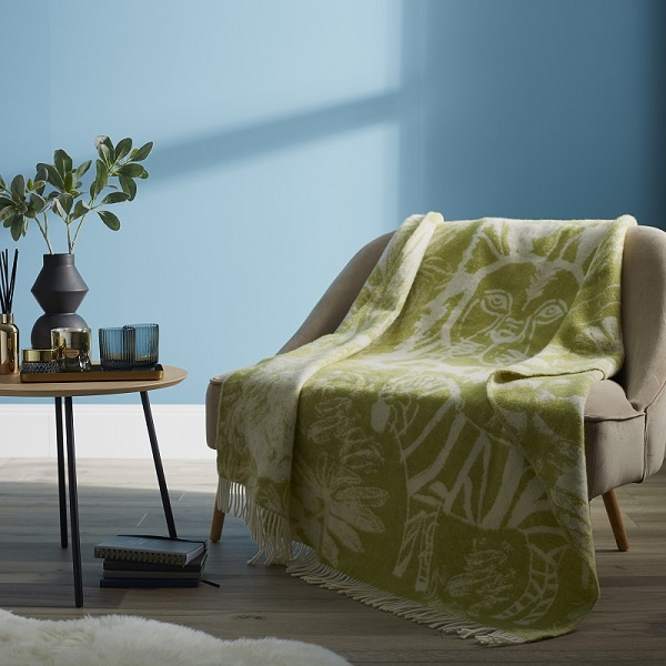 Woolroom Jungle Tastic Pure New Wool Throw