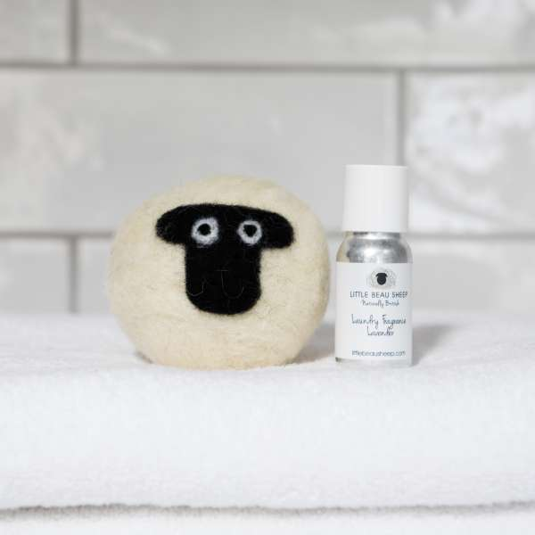 Little Beau Sheep Laundry Ball and oil - Suffolk - Lavender