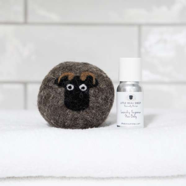 Little Beau Sheep Laundry Ball and oil - Shetland - New baby