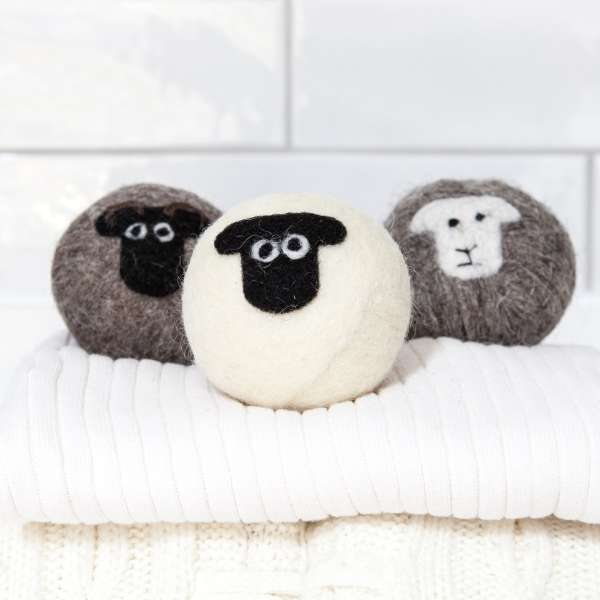 Little Beau Sheep Laundry Balls set of 3 - Assorted