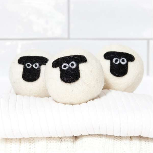Little Beau Sheep Laundry Balls set of 3 - Suffolk