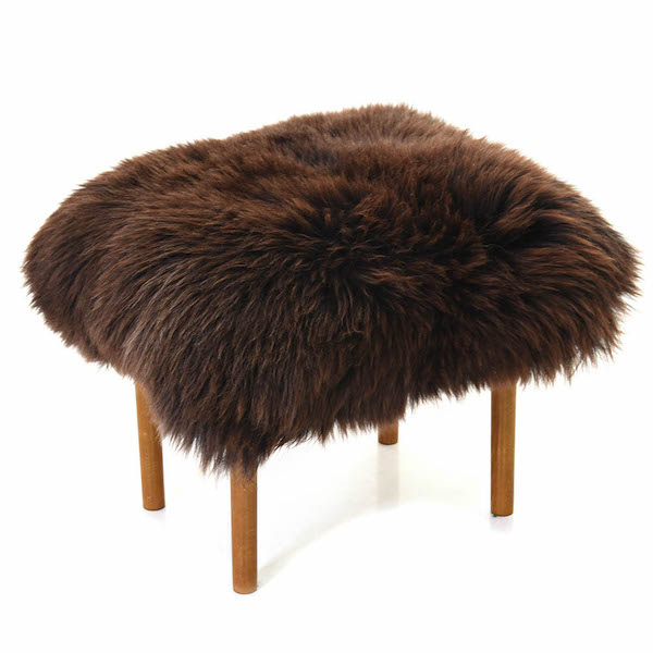 Ceri Baa Stool - Chocolate