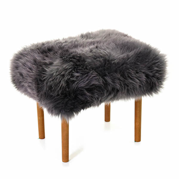 Ceri Baa Stool - Slate Grey