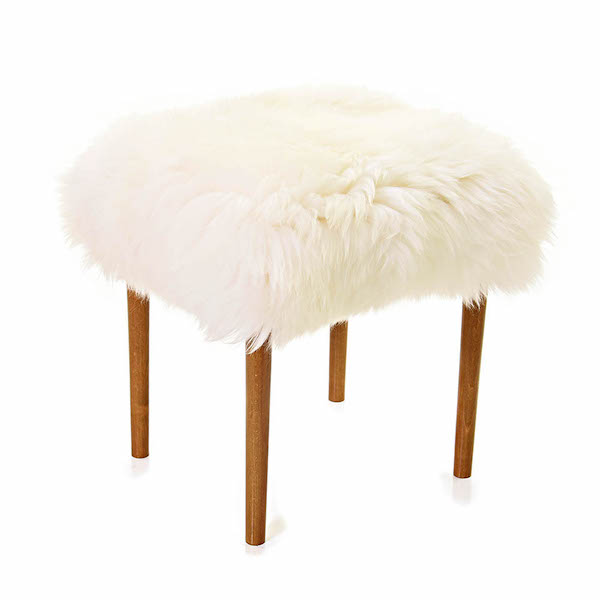 Swyn Baa Beauty Stool - Ivory