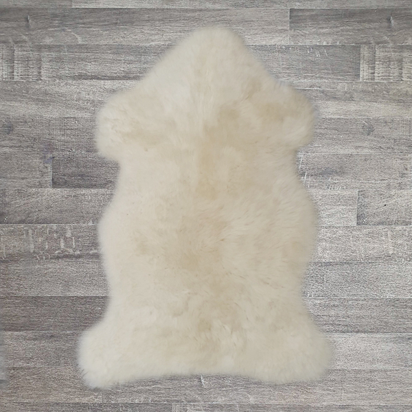 Single British Sheepskin - Natural - Large