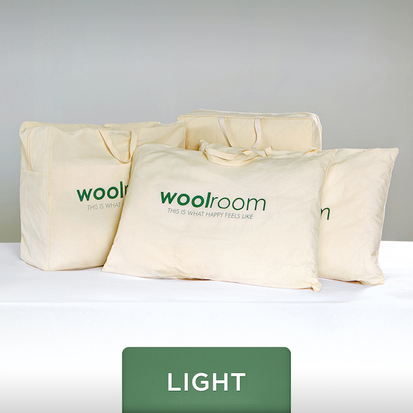 Classic Wool Bedding Set - Light