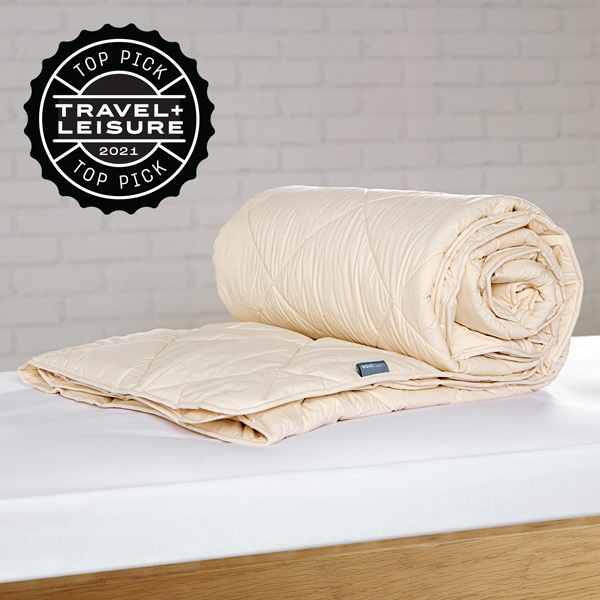 Deluxe Washable Wool Comforter - Medium