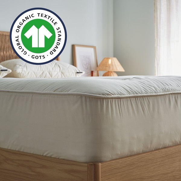 Luxury Organic Wool Mattress Pad