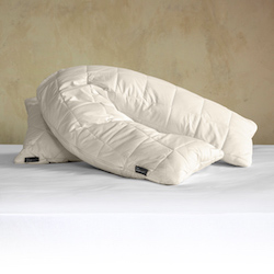 V-Shaped Deluxe Washable Wool Pillow