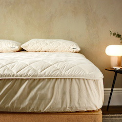 Deluxe Washable Wool Mattress Protector