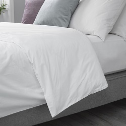 Arinta Housewife Duvet Cover - 200tc Organic Cotton