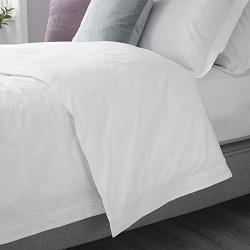 Arinta Oxford Duvet Cover - 200tc Organic Cotton