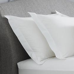 Arinta Oxford Pillowcase - 200tc Organic Cotton