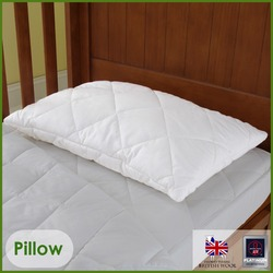 Wool Cot Pillow - Baby Pillow 40x60cms