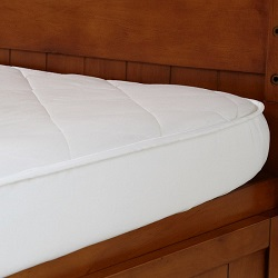 Wool Travel Cot Mattress Protector, 65 x 96cm