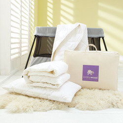 Wool Baby Bedding Travel Pack One