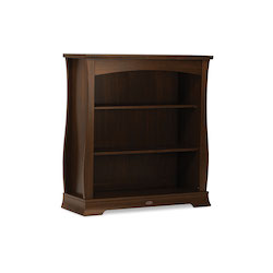 Boori Universal Sleigh Bookcase Hutch - English Oak