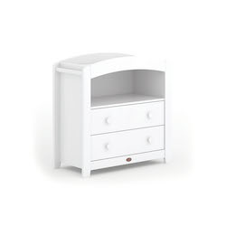Boori Universal Curved 2 Draw Chest Changer - White