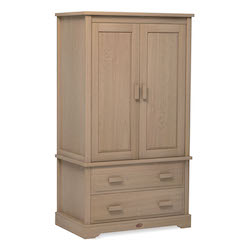 Boori Universal Wardrobe with 2 Drawers - Almond