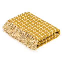 Athens Wool Throw - Gold