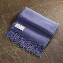 Twill & Granite Throw-Lavender