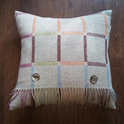 Cushion Beige Multiblock Reverse