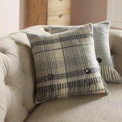 Cushion-Grey Huntingtower Cushion