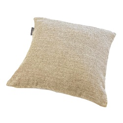 Woolroom Lilly Herringbone Cushion - Beige