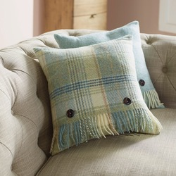 Cushion-Aqua Huntingtower Cushion