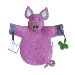 Percy Pig Hand Puppet