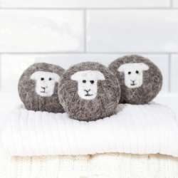 Little Beau Sheep Laundry Balls set of 3 - Herdwick