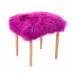Seren Baa Beauty Stool - Cerise